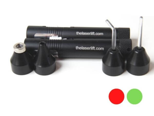 Professional Acupuncture Laser Twin Pack - Red & Green