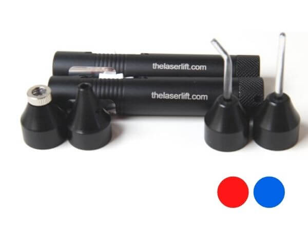 Professional Acupuncture Laser Twin Pack - Red & Blue
