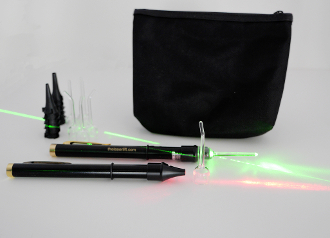 personal red & green acupuncture lasers set